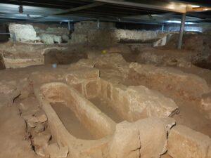 Santa Eulalia y su cripta. Mérida