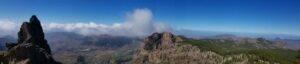 Vistas desde el Pico de las Nieves